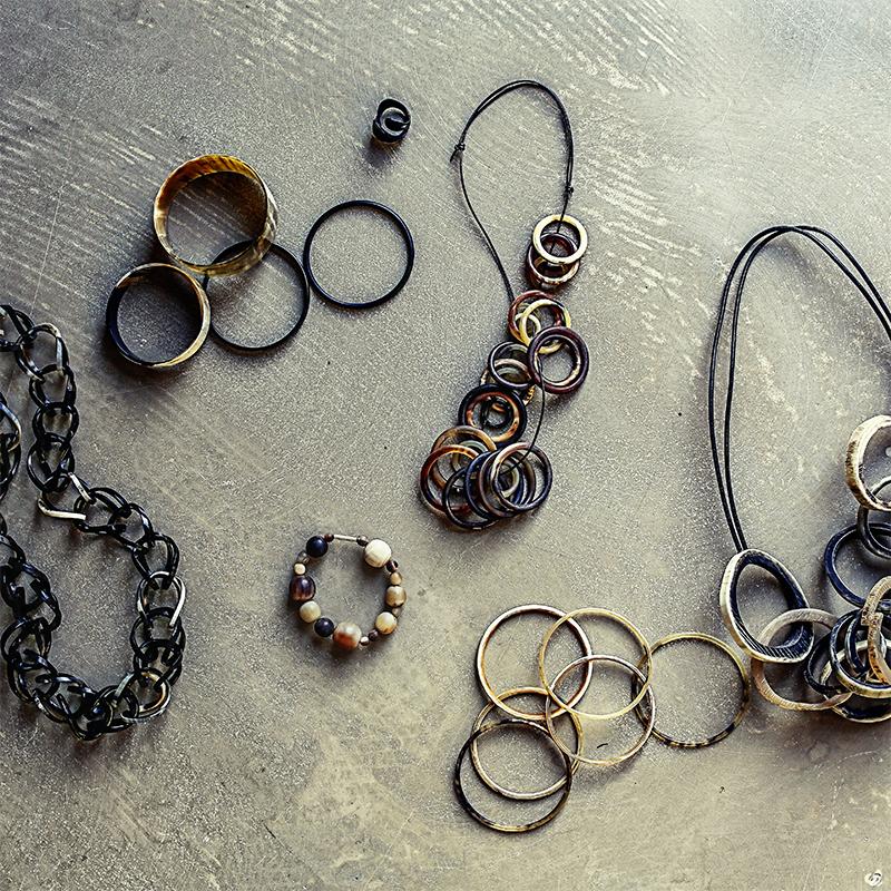 smykker i horn